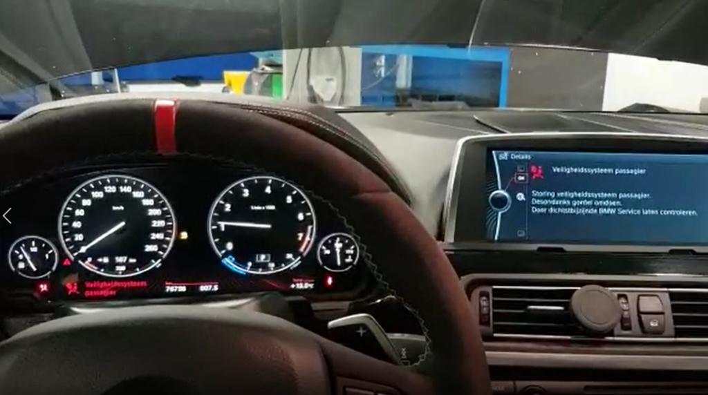 Oorzaak CAN-bus problemen BMW 650i Cabrio gevonden met een föhn!